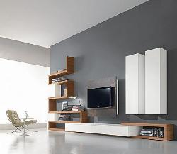 Stylish TV unit with proper storage space