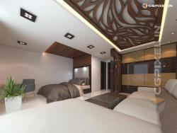 3D MASTER BED ROOM VIEW IN KOTA