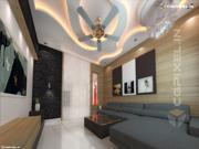 3D VIEW LIVING ROOM KOTA