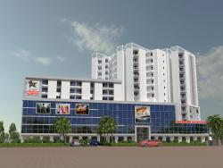3D VIEW EXTERIOR MALL
