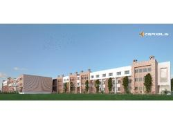3D VIEW SCHOOL BUILDING KOTA