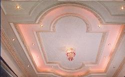 Guest room ceiling