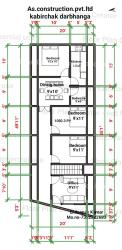 """This is house plan ofv12""""x62"""""""