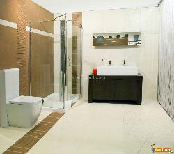 Classic Bathroom with Glass shower