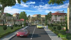 3D Exterior Architectural Rendering Resort