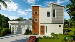 3D Exterior Home Design Rendering