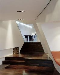 Wooden Flooring coupled with white walls can create amazing impact