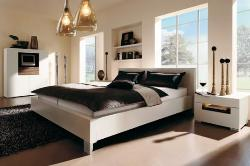 More spacious bedroom
