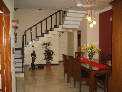 Staircase near Dining Area