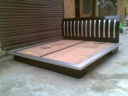 A custom made designer bed picture