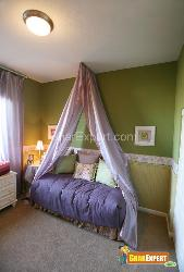 Modern Canopy Bed for Girls