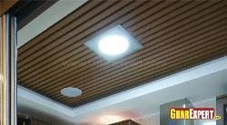 Wooden Panel Ceiling design
