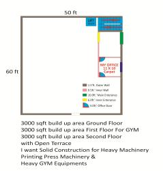 Printing Press + GYM Bldg. Plan