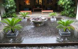 Another Outdoor design using Fountains