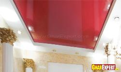 Tray Ceiling Design with Stretch PVC