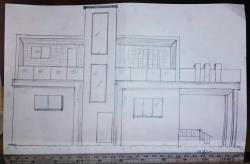 3d sketch north facing