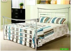 Modern design stainless steel bed design