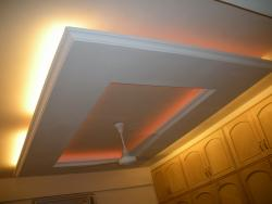 backlit lights in a Ceiling for bedroom