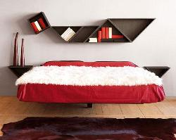 Different design for bed headboard wall