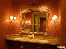 Royal Bathroom with expensive accessories