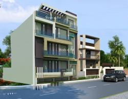 ALTERNATE DESIGN SCHEME FOR THE PROPOSED RESIDENCE AT RW-56, MALIBUE TOWNE, GURGAON