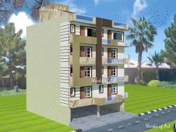 RESIDENTIAL BUILDER FLATS AT NARELA FOR MR. RAHUL SINGHALI