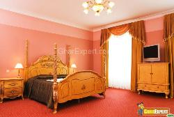 A Beautiful Bedroom with Curtains