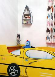 Kids Room Furniture Car Shape Bed
