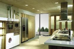 Kitchen in a gallery shape and style