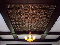 Tin Ceiling Design Idea