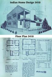 Indian Home 5410 with floor plan
