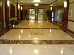 Glossy Marble Flooring with ultimate designing for lobbies