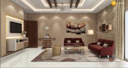 Modernn & sleek Living room Design
