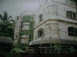 Bunglow  During construction