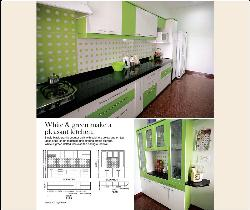 innovative green kitchen