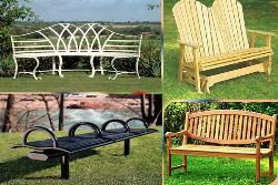 Garden benches- Beauty of gardens