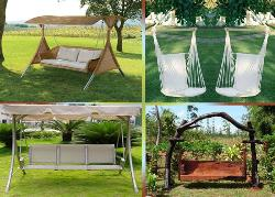 Garden Swings-  Your comfort zone