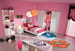An all pink room for a teenage girl..