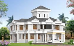 BUNGLOW 3D VIEW