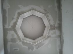 lighting concept shown on a ceiling