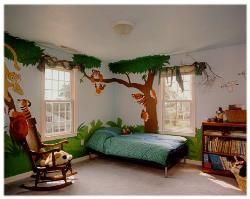 Kids Room in Jungle Theme