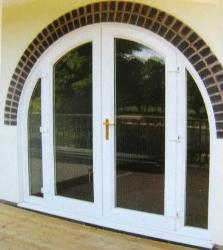 Arched French  Window