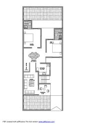 """House design for 29"""" X 75 """""""