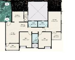 3 Bedroom House layout