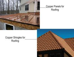 Different ways for Copper Roofing