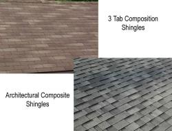Different Composite Roofing Shingles