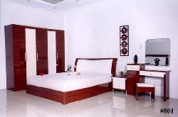 white and brown concept bedroom set