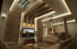 Gypsum Decoration ceilling with hidden lights