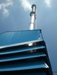 industrial boiler chimney manufacturing & erection work