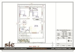 50' x36' east facing ground floor plan layout